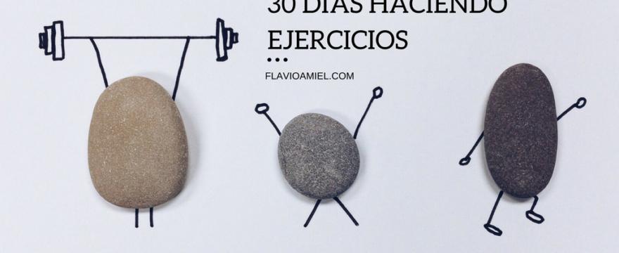 30 días de ejercicios diarios